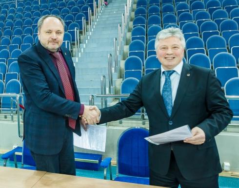 Подписан договор о сотрудничестве между федерациями баскетбола Москвы и Московской области